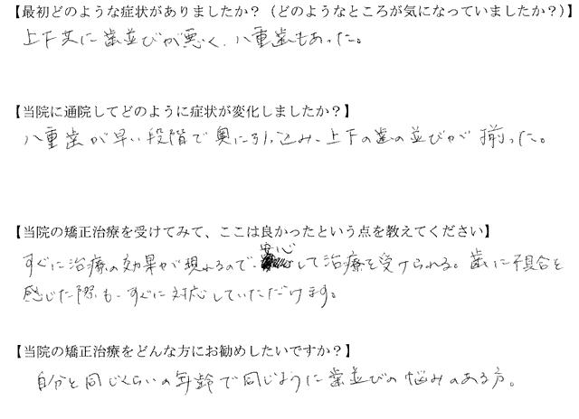 四街道市 K様(31歳・会社員)